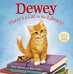 Dewey There's a Cat in the Library