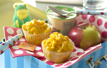 Mac N Cheese muffins from The Sneaky Chef