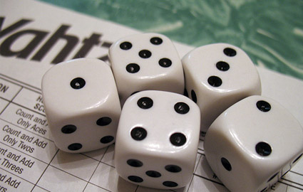 Yahtzee! Credit: Photo Denbow , Flickr