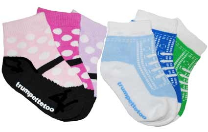 NEW 168 BABY SOCKS THAT STAY UP