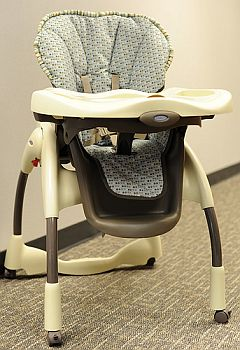 graco high chair recalled