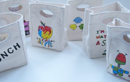 Fluf Design Lunch Bags