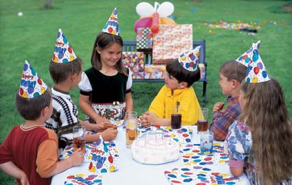 Summer birthdays mean you can take the party outside. Credit: Getty ...