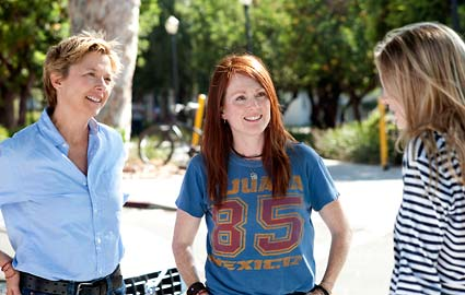 The Kids are All Right movie starring Annette Bening and Julianne Moore