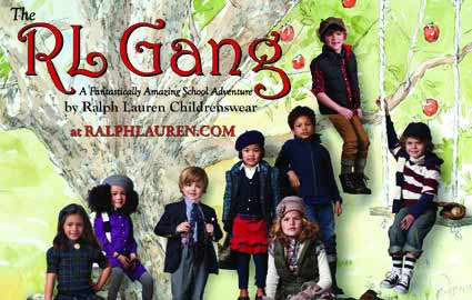 Ralph Lauren writes a book called The RL Gang