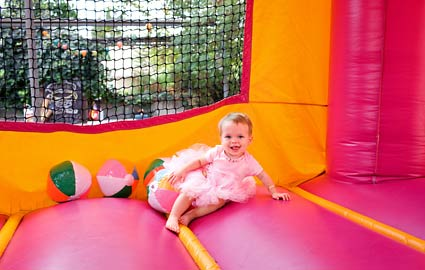 Bouncy Castles may have large amounts of lead in them