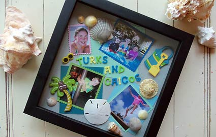 Lasting Summer Memories in a Shadow Box