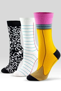 back to school socks Ashi Dashi