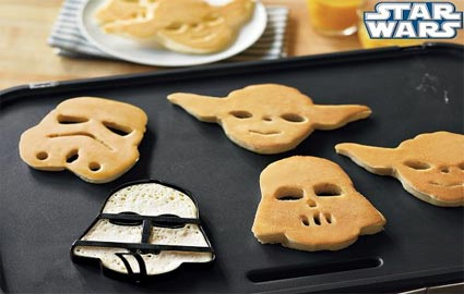 star wars pancake molds williams-sonoma