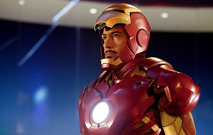 Robert Downey Jr. as Tony Stark in Iron Man 2