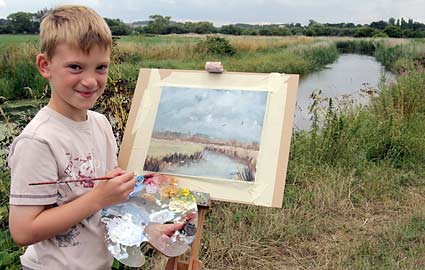 Mini Monet, Kieron Williamson