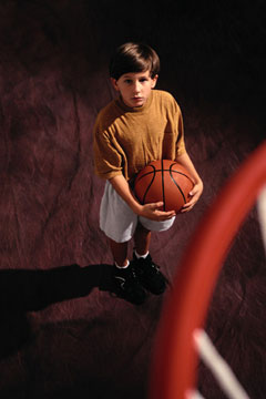 Basketball related injuries up among children