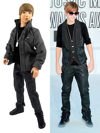 We always thought Justin Bieber was a doll. Credit: Splash News / X17online