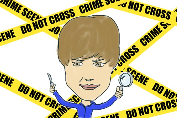 Justin Bieber illustration