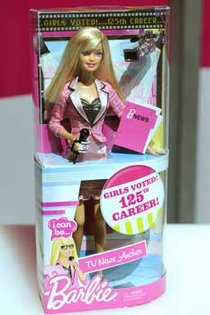journalism barbie