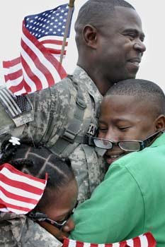 soldier and son picture