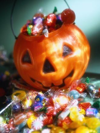 halloween candy picture