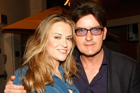 charlie sheen brooke mueller divorce picture
