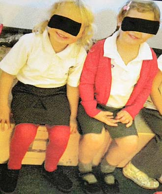 child yearbook privacy picture