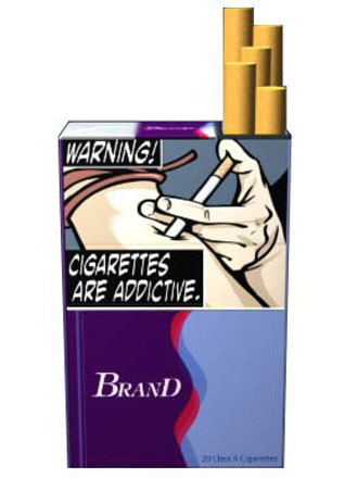 cigarette warning label picture