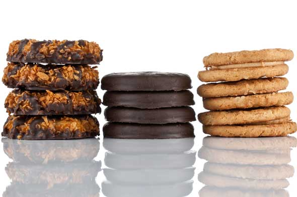 GIRL SCOUT COOKIES are never out of season. Credit: The Girl Scout ...