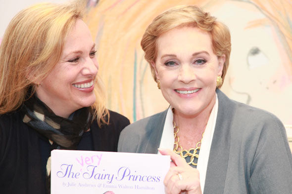 Julie Andrews and Daughter