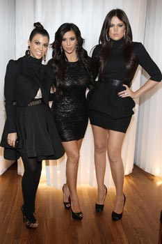 kim khloe kourtney kardashian picture