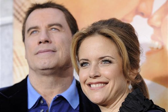 john travolta kelly preston picture