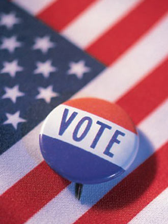 vote pin picture