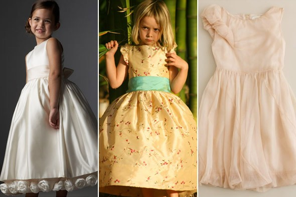 flower girl dresses picture