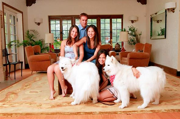 amy chua family picture