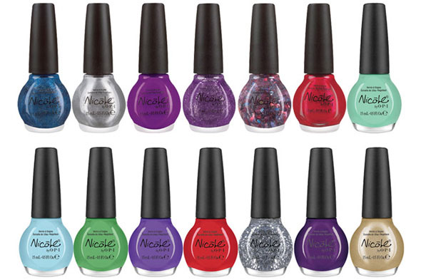 Justin Bieber OPI. The 14 shades in Justin Bieber's nail polish collection