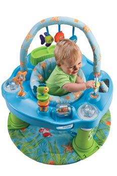 double fun exersaucer