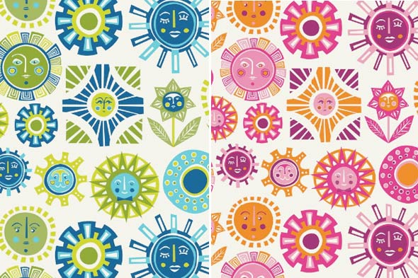 wallpaper patterns junior sun kids rooms