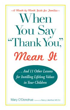 when you say thank you mean it book