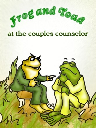Frog and Toad at the Couples Counselor