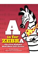 a is for zebra book