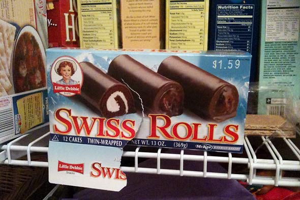 little debbie swiss rolls picture