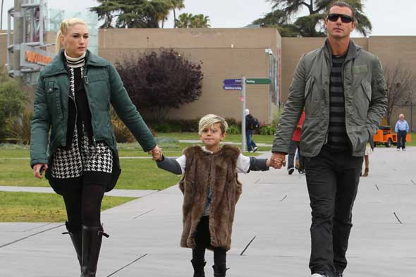 gwen stefani gavin rossdale kingston picture