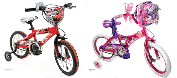 kids bicycle giveaway picture