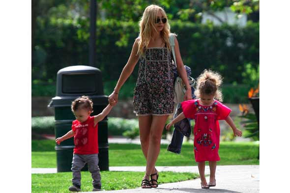 nicole richie, sparrow and harlow