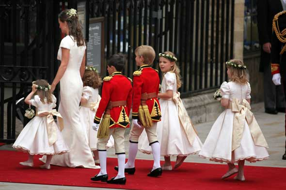 royal wedding flower girls