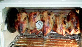 chicken rotisserie picture