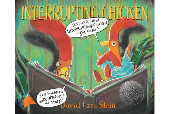 the interrupting chicken book