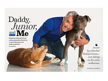 Cesar Millan with pets picture