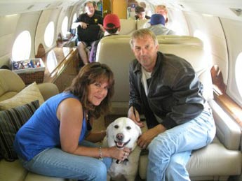kevin costner jan folk dog picture