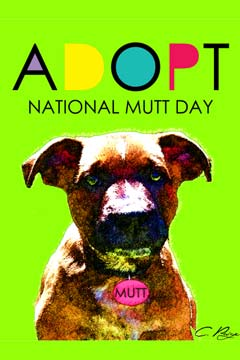 national mutt day poster