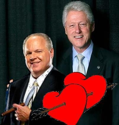 Bill Clinton and Rush Limbaugh
