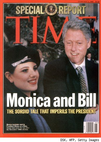 bill clinton and monica lewinsky cartoon. Clinton#39;s convoluted testimony