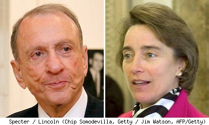 arlen specter and blanche lincoln